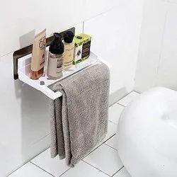 Abs+sebs White Wall Mounted Napkin/Towel Holder, For Bathroom