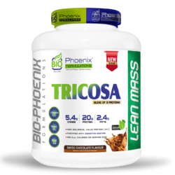Tricosa Blend of 3 Protein - Muscle Gain Supplement