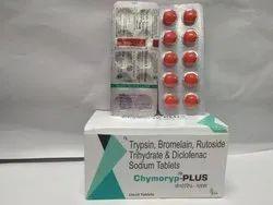 Trypsin, Bromelain, Rutoside Trihydrate and Diclofenac Sodium Tablets