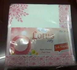 2 Ply Soft Tissue Napkin