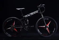 LAND ROVER  Black Folding Cycle