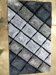 Wool Rectangular Decorative Shag Carpet, Size/Dimension: 3 X 5 Feet, for Home