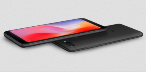 Black Redmi 6 Phone