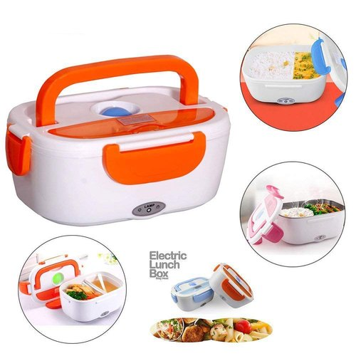 Plastic Electric Lunch Box, Rs 220 /piece HCM Seller | ID: 20900637897