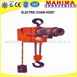 mahima electric chain hoist, capacity: 0 5 - 3 2 ton, for lifting and  hoisting