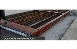 Modern Concrete Weighbridge