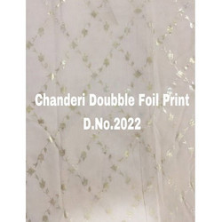 Digital Foil Print Fabric