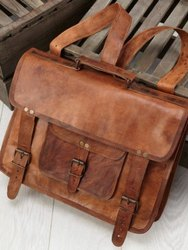 Leather Messenger Bag, Laptop Bag, Shoulder Bag, Genuine Leather Bag,  Handmade Leather Bag, Bags