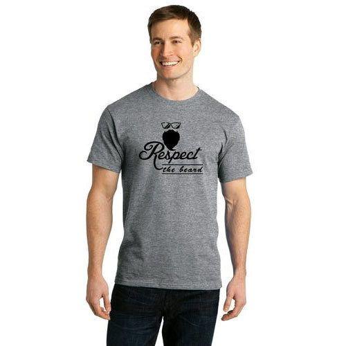 d85ede72e48ab9 Cotton Designer Printed Round Neck T Shirt