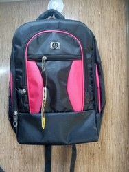Black & Red HP Laptop Bag