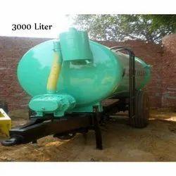 3000 Liter Sewer Suction Machine