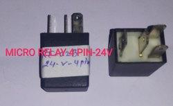 Micro Relay 4 Pin 24v