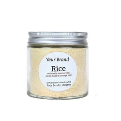Natural Rice Scrub