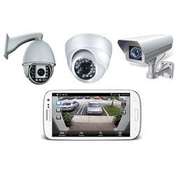 PVC CCTV Camera Security System