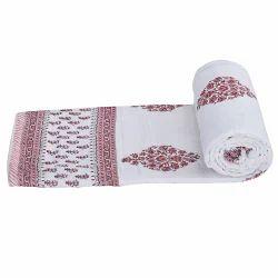 Ethnic Jaipuri Print Bed Comforter 202