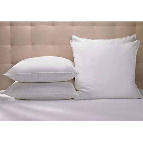 Polyester Micro fiber Hotel Bed Pillow, Shape: Square, Size: 17 x 27 inches