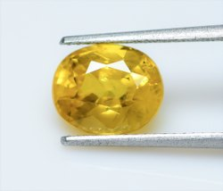 Natural Yellow Sapphire 3.56 Carat IGI Certified