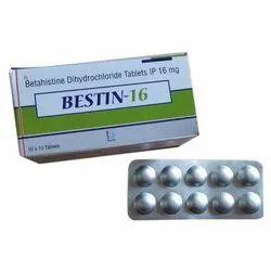 Betahistine Dihydrochloride Tablets Ip 16 Mg
