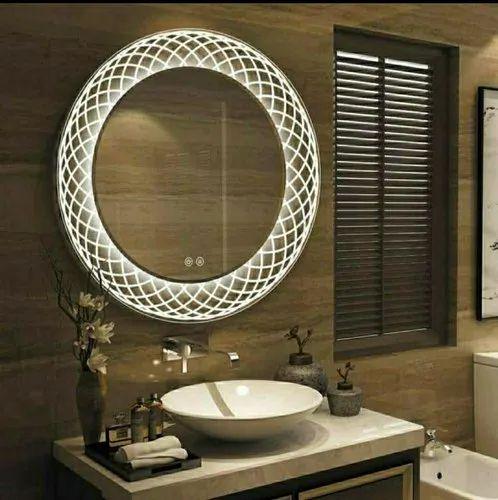 Wall Mounted Decorative Led Bathroom, Mirror For Bathroom