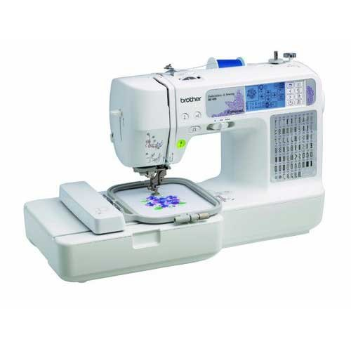 Brother Computerized Embroidery Home Sewing Machine, Model: SE400