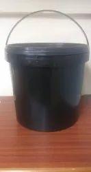 5 kg Black Bucket