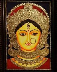 Devi Durga Tanjore Painting