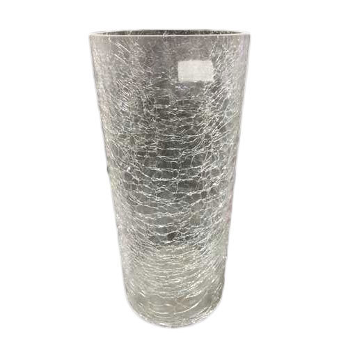 Cylindrical Broken Glass Flower Vases At Rs 1499 Piece Glass