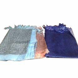 Printed Ladies Silk Stoles