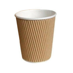 8 OZ (250ML) Ripple Wall Disposable Coffee Cup
