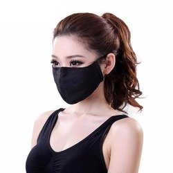 GET FIT Anti Pollution Cotton Face Mask