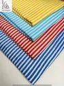Multi Color Stripe Block Print Fabric