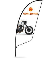 EXIBU Fin Flag Banner