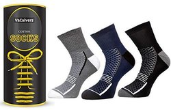 gianthomekitchenwear mix colur MENS COTTON ANKLE SOCKS, Size: Medium