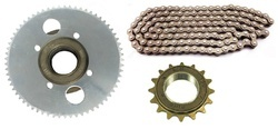 Sprocket , Chain & Free-Wheel Set