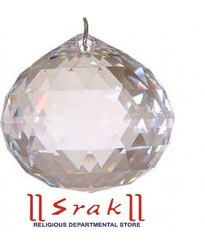 Crystal Glass Hanging Diamond Cutting Ball