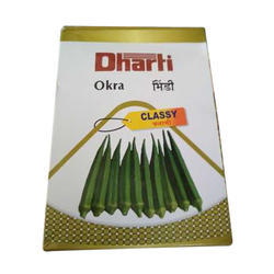 Dharti Hybrid Okra Classy Seeds, Packaging: 50 g