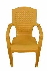 Modern Swift International Plastic Comfort Chair With Arms, 88.9X54.6X35 cm