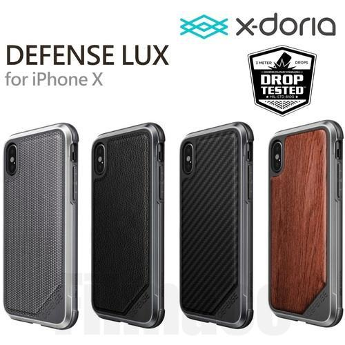 size 40 d8b1a b6f98 X Doria Defense Lux Series Case For Iphone X 7 8 Military Grade