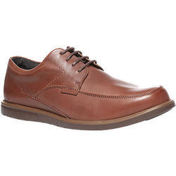 Men Brown Rexine Formal Shoes