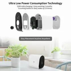 Dv - Ease Smart Ip Camera With Battery Wifi Wireless 1080p