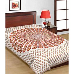 Single Dandiya Print Jaipuri Bedsheet