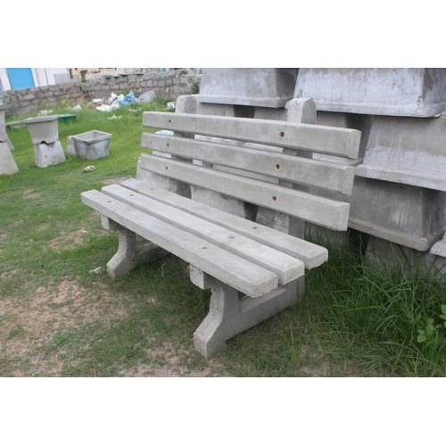 Admirable Concrete Garden Benches Andrewgaddart Wooden Chair Designs For Living Room Andrewgaddartcom