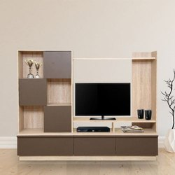 Wall Mounted Plywood TV Unit