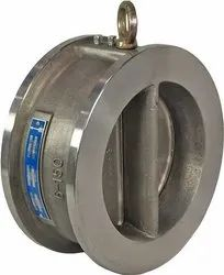 Water Type Dual Plate Check Valve