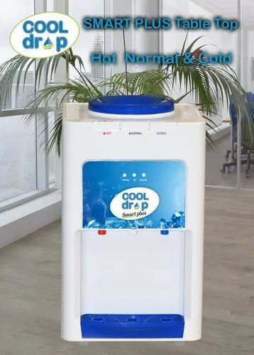 Cool Drop Smart Plus Hot Normal Cold Table Top Water Dispenser