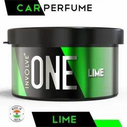 Strong Car Freshener Involve ONE Lime Car Perfume - Leak Proof Car Fragrance