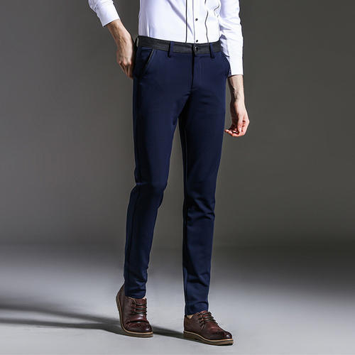 81637a256ecb5 Flat Trousers Mens Slim Fit Plain Trouser, Rs 270 /piece | ID ...