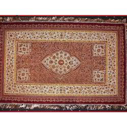 Antique Embroidery Jewel Carpet, Size: 2 X 3 Feet