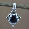 925 Sterling Silver Black Onyx Gemstone Jewelry