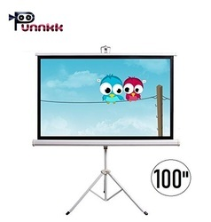 Punnkk Tripod Projection Screen